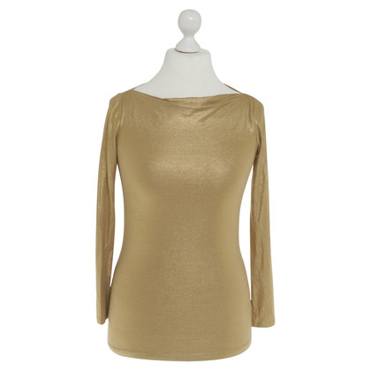 Ralph Lauren top in gold