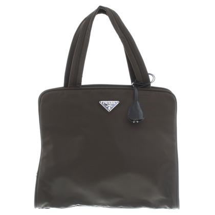 Prada Handtasche in Olivgrün