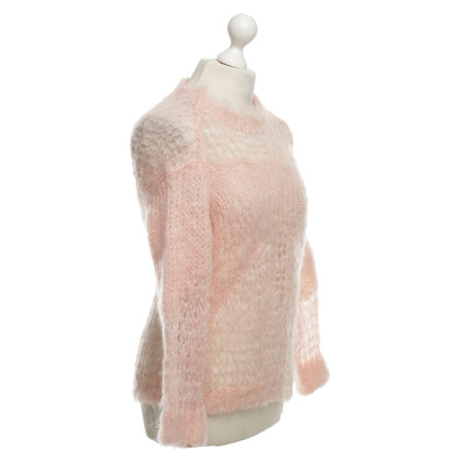 Acne Mohair trui in roze