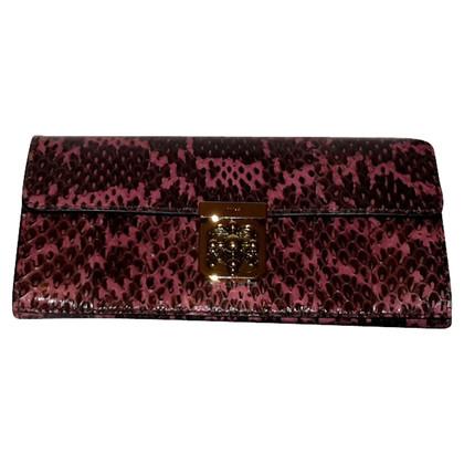 Chloé Python Elsie wallet