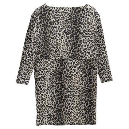 Whistles Abito con stampa leopardo