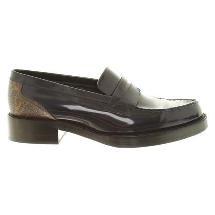 Louis Vuitton Slipper aus Lackleder