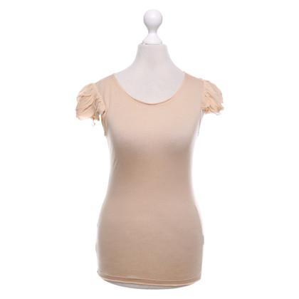 Alice + Olivia top in beige