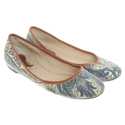 Etro Ballerinas with paisley pattern