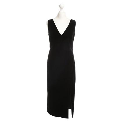 Hugo Boss Velvet dress in black