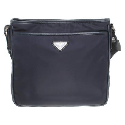 Prada Shoulder bag in dark blue