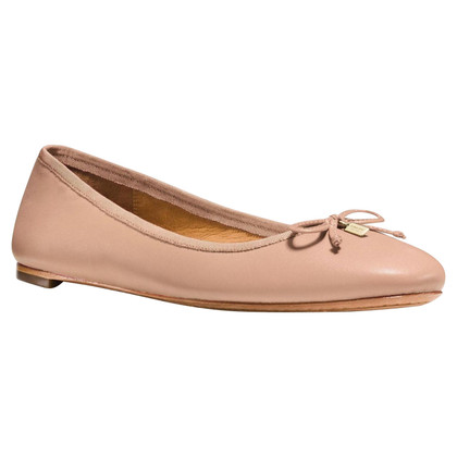 Coach Ballerina's in nude