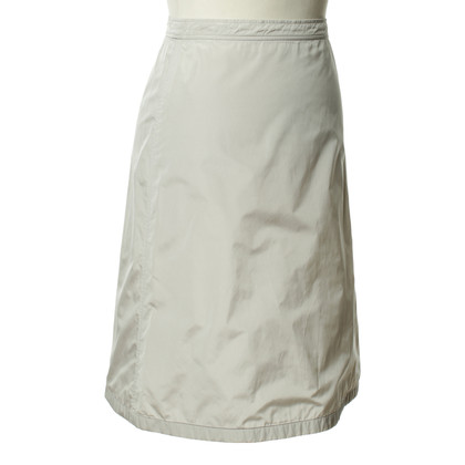 Jil Sander Light gray skirt