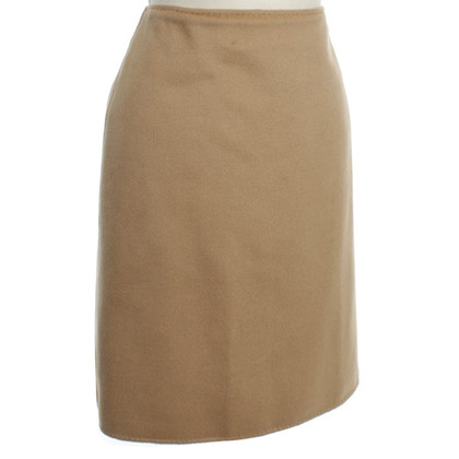 Max Mara skirt in camel