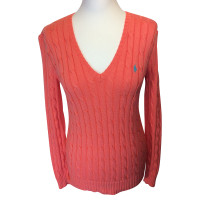 Ralph Lauren Cotton pullover with cable pattern