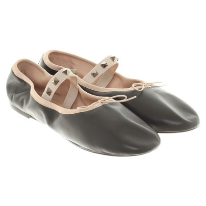Valentino Ballerinas in black