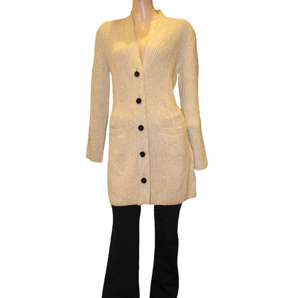 Marc Cain Knitted coat in beige
