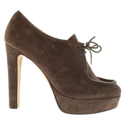 L'autre Chose Ankle boots from suede