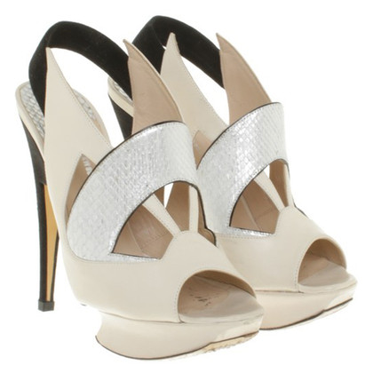 Nicholas Kirkwood Sandals in Tricolor