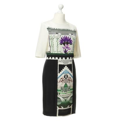 Mary Katrantzou Kleid mit Motiv-Druck