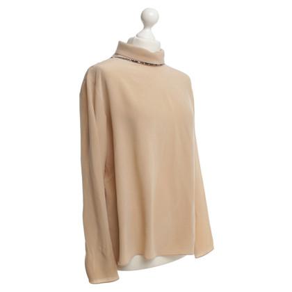 Schumacher Silk blouse in beige