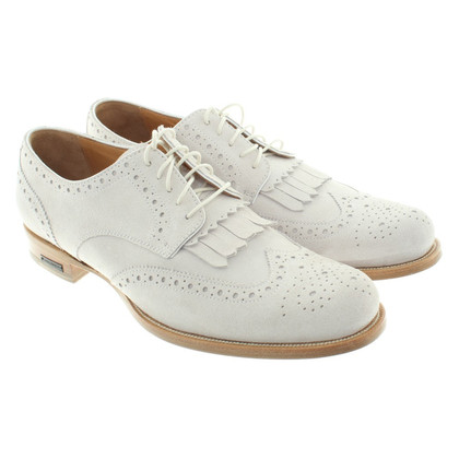 Dsquared2 Wild leather shoes in grey