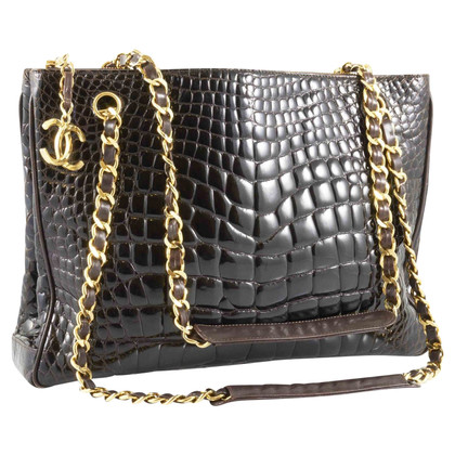 Chanel Vintage Tote bag made of crocodile leather