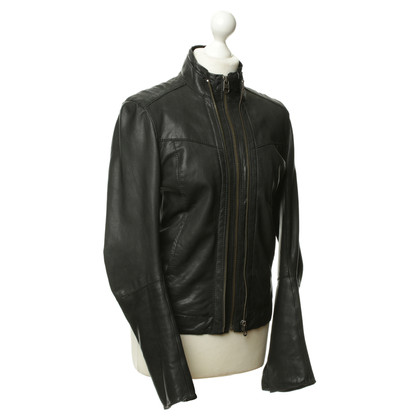 Zadig & Voltaire Leather jacket in black