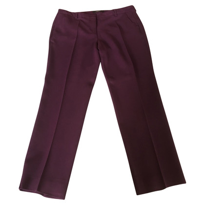 Max Mara Pantaloni in Bordeaux