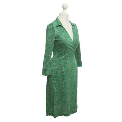 Diane von Furstenberg Wickelkleid in Grün