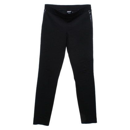 DKNY Leggings with leather details
