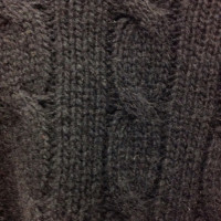 Ralph Lauren Cabled knit poncho