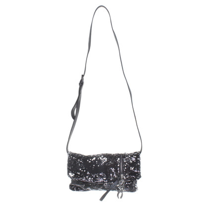 Costume National Shoulder bag with sequins