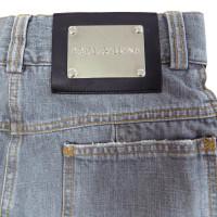 Dolce & Gabbana Gray Jean Skirt