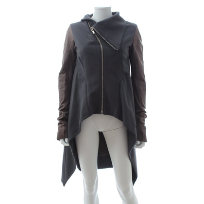Rick Owens Jacket with leather inserts