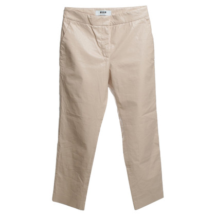 MSGM trousers in Nude