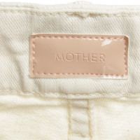 Mother Jeans in beige