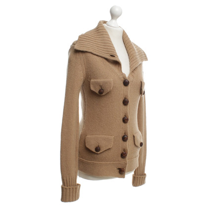 Burberry Prorsum Strickjacke in Beige