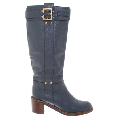 Chloé Boots in blue