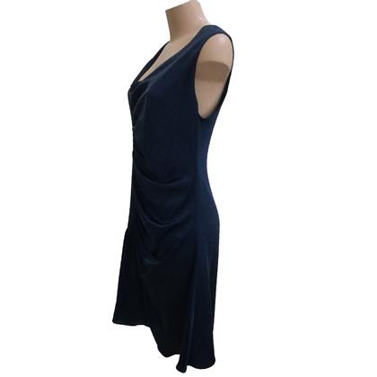 Christian Dior Abito di seta in blu