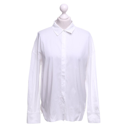 Marc Cain Blouse met overhemd in wit