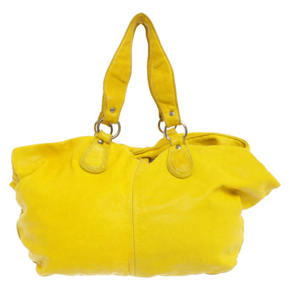 Marc Cain Shopper in yellow