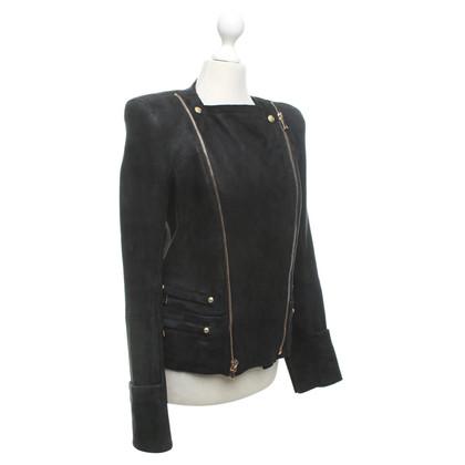 Balmain agnello giacca