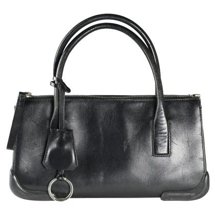 Prada Handtasche aus Leder/Kautschuk
