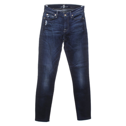7 For All Mankind Jeans mit heller Waschung