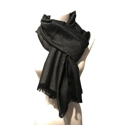 Gucci Guccissima sjaal wol/zijde