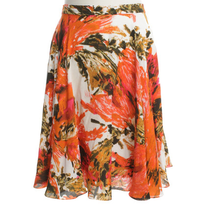 Erdem skirt with floral print