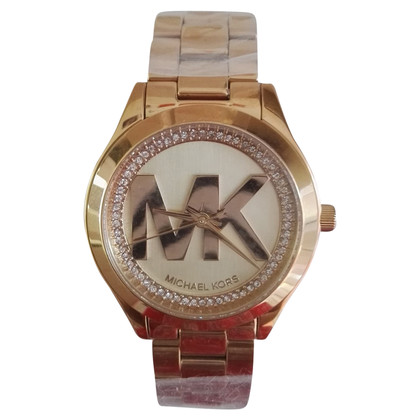 Michael Kors Gold colored clock