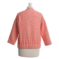 By Malene Birger Tweed jas in roze