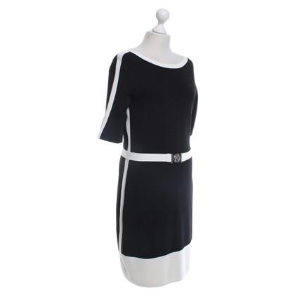 Ralph Lauren Kleid in Schwarz/Weiß