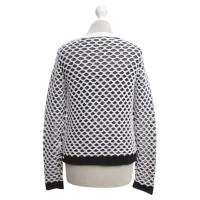 Rag & Bone Maglione in bianco / nero
