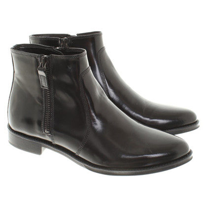 Pollini Ankle boots in black
