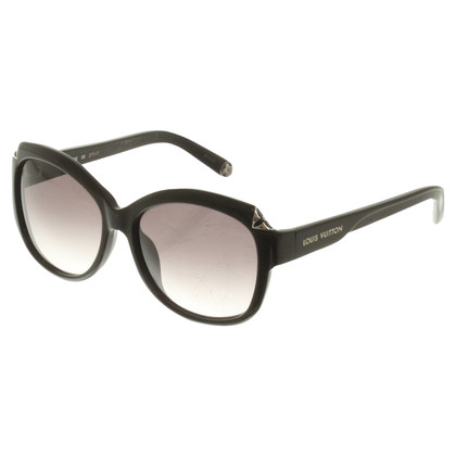 Louis Vuitton Sonnenbrille in Schwarz