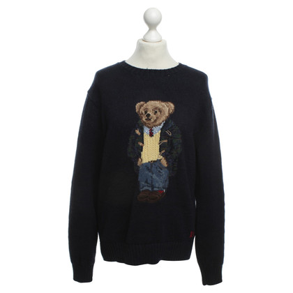 Polo Ralph Lauren Knitted jumper with Teddy motif