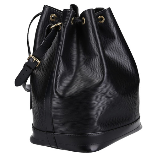 popular brand classic buying cheap Louis Vuitton Sac Noé Leather in Black - Second Hand Louis ...